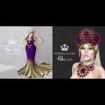 Modern Couture - Mystic Dress Malina Jewelry