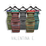 Valentina E - Zoe Cotton Knit Dress