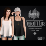 Wimey - Relaxed Fit Tanks